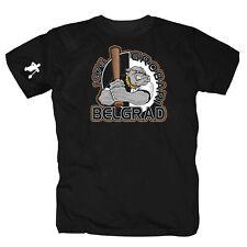 Grobari Belgrad Ultras Fussball Club Partizan  Hooligans Serbien T-Shirt S-4XL