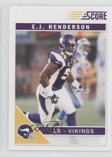2011 Score #161 EJ Henderson Minnesota Vikings E.J. Football Card