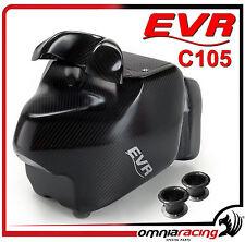 Kit Air Box EVR C105 + Race Inlet + Air Filter Ducati Hypermotard 1100