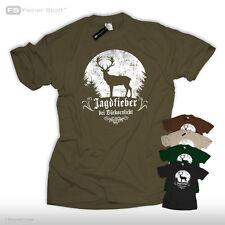 Febbre di caccia in barattoli Luce T-shirt CACCIATORE CACCIA latino Fun distretto Hirsch
