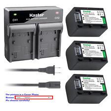Kastar Battery Rapid Charger for Sony NP-FV70 & Sony DCR-SR58 DCR-SR68 DCR-SR73
