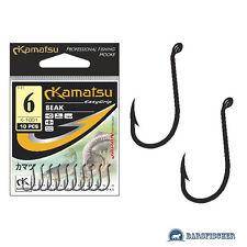 KAMATSU k-1091 Beak/Carpa Gancio con öhr, ami da pesca Lotti, Carp Hook, ganci