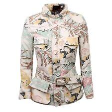 C4180 giubbotto donna CUSTO BARCELONA multicolore jacket woman