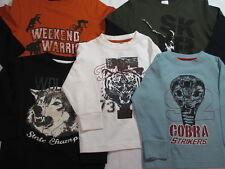 NWT Gymboree PreppySaurus Tshirt 3 Cobra Tiger Wolves Sk8 Weekend Warrior Shirt