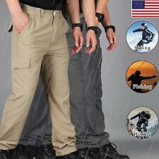 Soldier Tactical Waterproof Pants Men Cargo Combat Hiking Outdoor Trousers GEMS