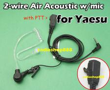 PTT earpiece with Acoustic Tube Yaesu VX-2R VX3R 006y