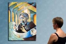 "55"" - CUBIST WEDDING___ORIGINAL painting by GAVRILESCU"