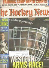 September 14, 2001 The Hockey News Weekly------Hasek---Tkachuk