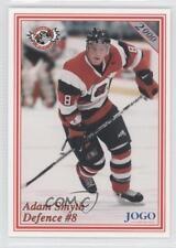 2000-01 Jogo Ottawa 67's #8 Adam Smyth (OHL) Rookie Hockey Card