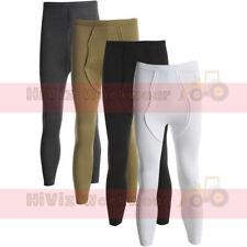 Thermal Long John - Base Layer Heat Trap Fabric Work Wear Underwear Pants Bottom