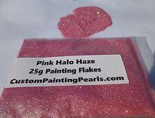 Pink Halo Haze Flake Plasti Dip Lacquer Urethane Enamel Acrylic Clear Gloss PPG