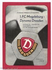 PRG    DDR-OL   79/80   DYNAMO DRESDEN - 1.FC MAGDEBURG