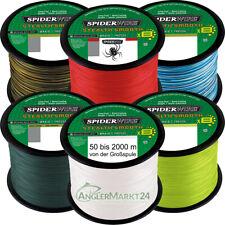 (0,08€/m) NEW Spiderwire Stealth SMOOTH 8 ab 50m alle Stärken & Farben Schnur