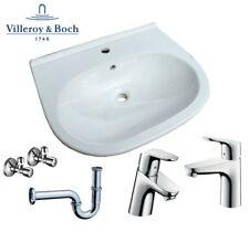 Villeroy & Boch Waschbecken O.Novo 600 x 490 mm in weiß optional mit Zubehör