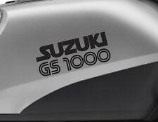 SUZUKI GS1000 motorbike bike logo decals CUSTOM COLOUR Vinyl Sticker. Upto 18cm