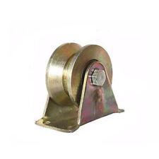 1pc 31mm Dia Steel Bearing Steel Groove Rigid Caster Wheel V/U Type