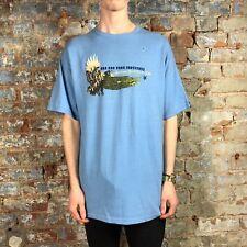 Zoo York Heather Peri Manga Corta Camiseta-Azul-Tamaño: L