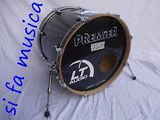 PREMIER Artist Custom made England cassa batteria drum bass Betulla  22x18 USATA