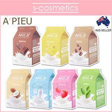 [A'PIEU] Milk One Pack (1, 3 or 5 sheets) APIEU Sheet Mask Strawberry Chocolate