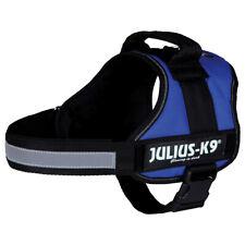 Julius-K9 Hunde Powergeschirr blau, diverse Größen, NEU