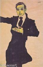 Egon Schiele Max Oppenheimer 1910 Canvas Print
