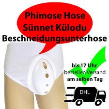 Beschneidungsunterhose - Zirkumzision - Beschneidung - Phimose Hose - Sünnet