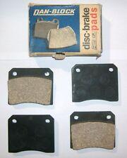 FIAT 1600 S - 1800 - 2100 - 2300/ PASTIGLIE FRENO ANTERIORI/ FRONT BRAKE PADS