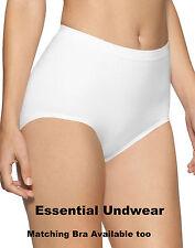 2X SUREFIT Sin Costuras Control De Luz Breves Bragas, S-XXXL, Negro, blanco y desnuda,