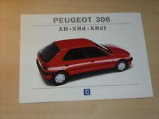 17194) Peugeot 306 XN XNd Prospekt 1994