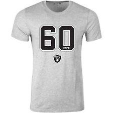 New Era ESTABLISHED LOGO Shirt - NFL Oakland Raiders grau