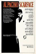 Scarface 1983 Movie Poster Print A0-A1-A2-A3-A4-A5-A6-MAXI 734
