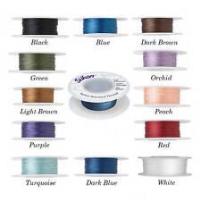 Silkon bonded nylon thread, Size #1 #2 #3 Silkon bonded nylon thread.