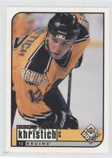 1998-99 Upper Deck UD Choice #12 Dimitri Khristich Boston Bruins Hockey Card
