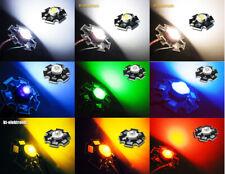 High Power LED 1W 350mA Chip weiss warmweiss kaltweiss rot gelb grün blau UV