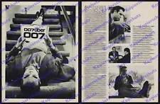 James Bond 007 Sean Connery HOMESTORY Hollywood-appartamento biografia intervista 1966