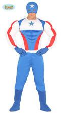 GUIRCA Costume super eroe Capitan  America carnevale uomo  mod. 8828_