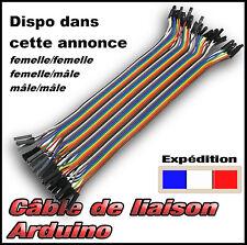 dupont câble liaison pour module Arduino * mâle ou femelle 40 fils