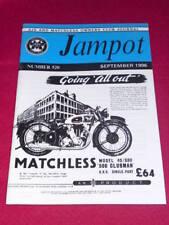 JAMPOT - AJS & MATCHLESS - Sept 1996 # 520