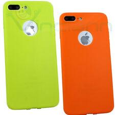 "Custodia TPU Color per iPhone 7 Plus 5.5"" cover case termoplastica flessibile"