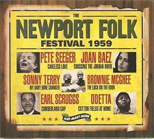 THE NEWPORT FOLK FESTIVAL 1959 - 3 CD BOX SET