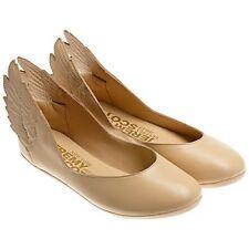 Adidas Originals X Jeremy Scott Women's Js Wings Ballerinas Dune Cream Q23666
