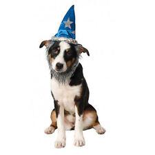 Pet Wizard Hat with Beard Funny Cute Dog Cat Costume Halloween Fancy Merlin