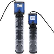Multifunction 3in1 Fish Tank Filter Pump Aquarium Submersible Water Power 500L/H
