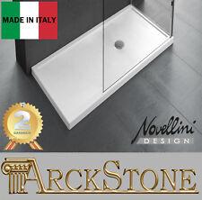 Piatto Doccia Bagno Piletta Doccia Novellini Olympic Plus Bianco Spessore 12,5cm