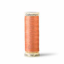 Gutermann Machine Sewing Thread 100m Sew All Thread - Choose from 20 Peach Cols