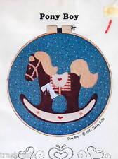 Cottonwood Hearth pattern applique horse pattern hoop