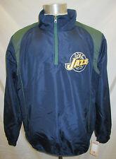 Utah Jazz Men's M, L, XL, 2XL 1/4-Zip Lightweight Nylon Pullover Jacket NBA