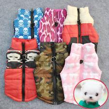 New Cat Dog Pet Clothing Soft Padded Vest Harness Jacket Small Dog Cute Coat