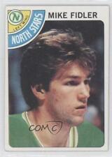 1978-79 Topps #84 Mike Fidler Minnesota North Stars Hockey Card