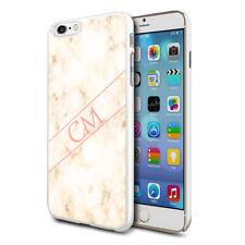 personnalisé marbre étui de téléphone pour apple Samsung Initiale Texte Nom - 79